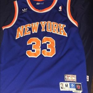 Patrick Ewing New York Knicks Basketball Jersey